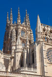 Detail of the cathedral of Burgos Royalty Free Stock Photo