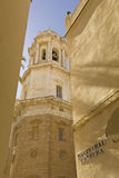 Detail of Cathedral. Cadiz Stock Photography