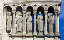 Detail of the cathedral of Chartres Royalty Free Stock Photography