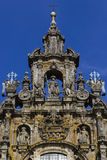 Detail of the cathedral facade Royalty Free Stock Photography