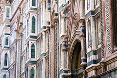 Detail, Cathedral, Florence Stock Image
