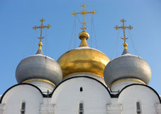 Detail of Cathedral of Our Lady of Smolensk Royalty Free Stock Photo