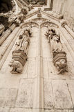 Detail of the Cathedral of Regensburg Royalty Free Stock Images