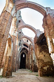 Detail of cathedral ruins Royalty Free Stock Image