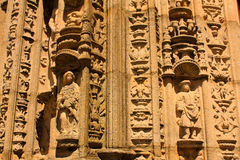 Detail of Cathedral. Santiago de Compostela Stock Image