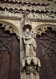 Detail of Cathedral of St. Maria, Augsburg Royalty Free Stock Images