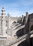 Detail of the Cathedral of Toledo Royalty Free Stock Photos