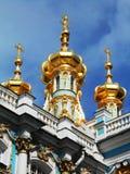 DETAIL FROM THE CATHERINE PALACE, TSARSKOYE SELO, PUSHKIN, RUSSIA Stock Photo