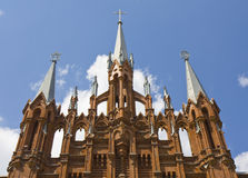 Moscow, cathedral of St. Mary, detail Royalty Free Stock Photography