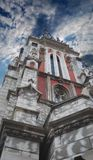 Detail of catholic temple Royalty Free Stock Photography