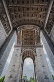 Arch of Triumph Paris Stock Image