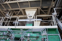 Detail of cement factory Stock Image