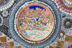 Detail of ceramic bowl Stock Images