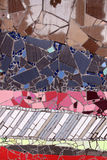 Detail ceramic glass mosaics Royalty Free Stock Photography