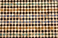 Detail of ceramic walls Royalty Free Stock Photos