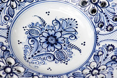 Detail of ceramics from Modra, Slovakia Stock Photo