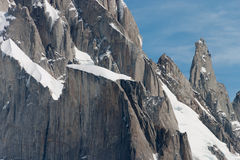 Detail of the Cerro torre Royalty Free Stock Images