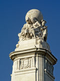 Detail of Cervantes Monument, Madrid Stock Photo
