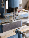 Detail of chain mortiser Royalty Free Stock Images