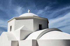 Detail of a chapel on the island of Karpathos, Greece Royalty Free Stock Image