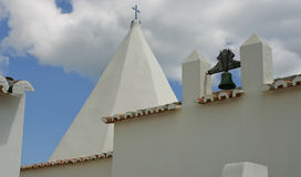 Detail of chapel of senhora da rocha Royalty Free Stock Photography