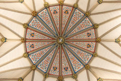 York Minster Chapter House ceiling, UK Royalty Free Stock Image
