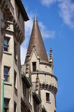 Turrets of Chateau Laurier in Ottawa. Ontario, Canada Royalty Free Stock Photo