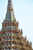 Detail of chedi in grand palace Stock Images