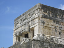Detail of Chichen Itza Stock Photography