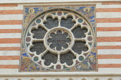 Detail of Chiesa di San Paolo dentro le Mura in Rome, Italy Stock Photography