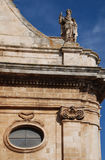 Detail of Chiesa Madre San Giorgio Martire, Locorotondo Royalty Free Stock Photos