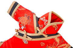 Detail of chinese dress Stock Image