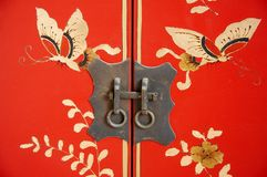 Detail of chinese furniture Royalty Free Stock Images