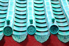 Detail of chinese roof Royalty Free Stock Image