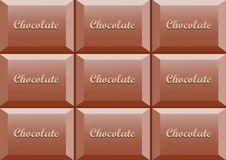 Detail of chocolate Stock Photos