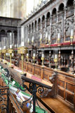 Detail of Choir Area of Kings College Chapel Stock Photo