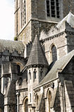 Detail of Christ Church Cathedral in Dublin, Ireland Stock Photography
