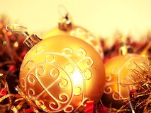 Detail of a Christmas decoration. A Christmas inspired still-life Stock Photos