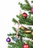 Detail from a christmas tree Stock Photography