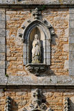 Detail of Church of Auray in France Royalty Free Stock Photography