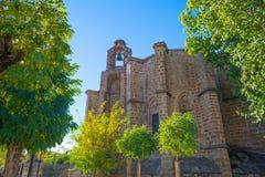 Detail of a church in Barco de Avila Stock Image
