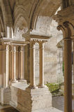 Detail of The church in Beaune in Burgundy, France Royalty Free Stock Photography