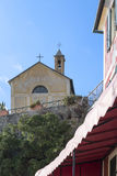 detail of church in bonassola Royalty Free Stock Photo