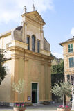 detail of church in bonassola Stock Photos