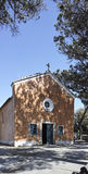 Detail of a church in campiglia Royalty Free Stock Photography
