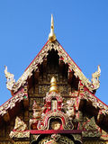 Detail of the church. In Chiang Rai,Thailand Royalty Free Stock Photos
