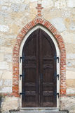 Detail of a church door Royalty Free Stock Photo