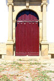 Detail of a church door, Penamacor, Portugal Royalty Free Stock Images