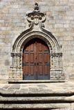 Detail of a church door, Penamacor, Portugal Royalty Free Stock Photo