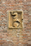 Detail from the Church of the Eremitani is an Augustinian church of the 13th century. Padua, Royalty Free Stock Photos